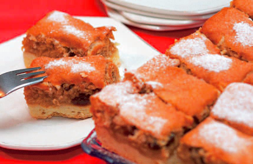 Jablkový koláč by mal vyzerať takto. Zdroj: Jana a Dano Veselovskí