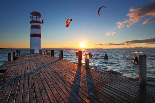 Neziderské jazero. Zdroj: Shutterstock