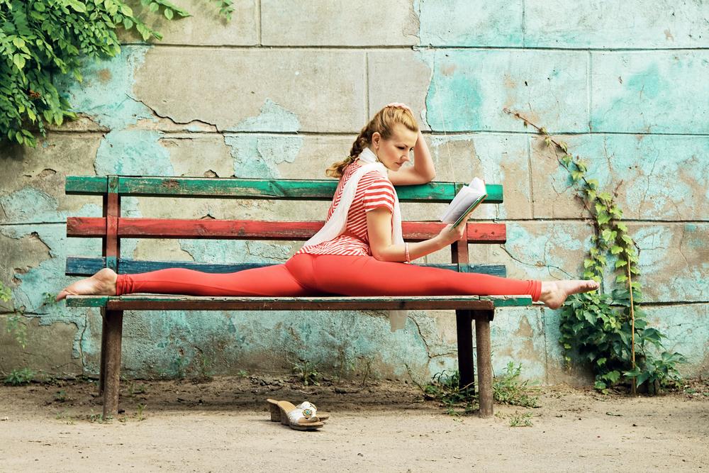 Knihy pre aktívny život. Foto: Shutterstock