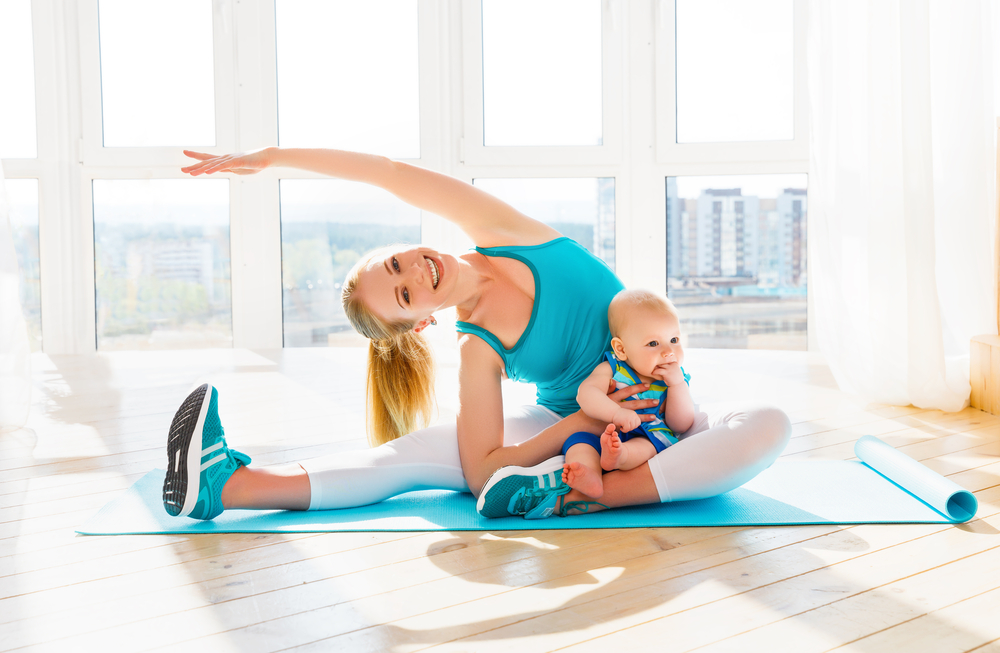 Cvičenie po pôrode. Foto: Shutterstock