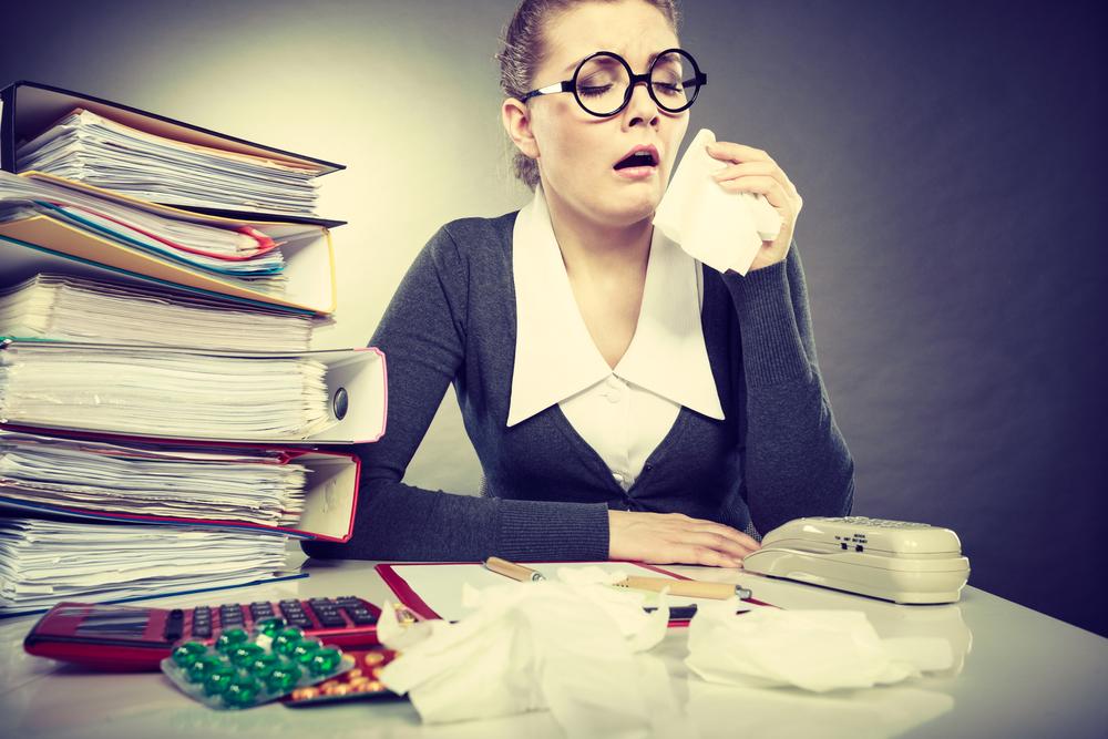 Stres v práci. Foto: Shutterstock