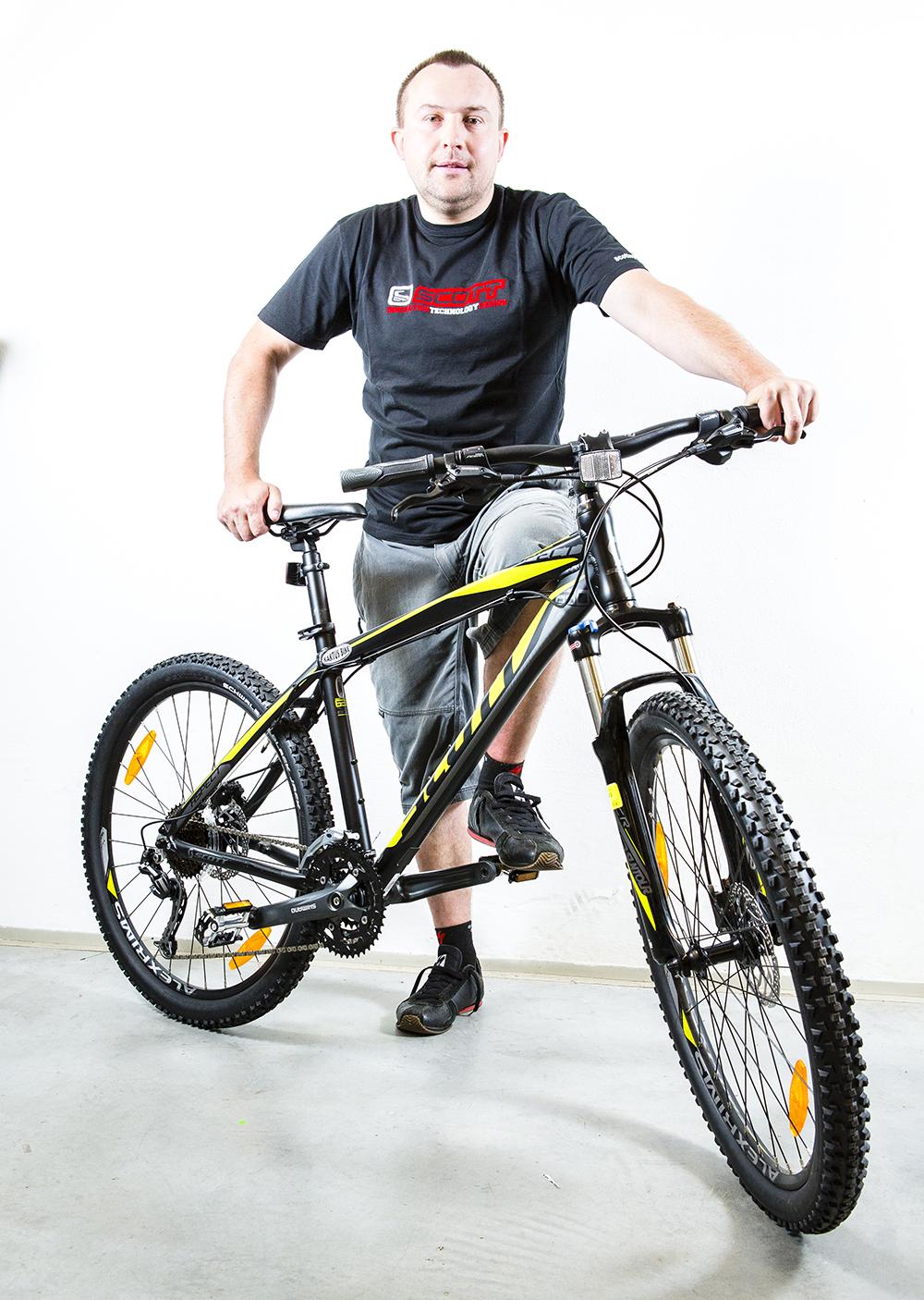 Horský bike Scott Aspect 30. Foto: Shutterstock