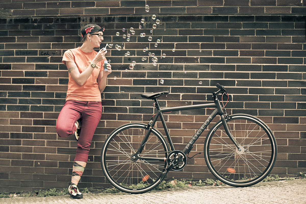 Bicykel Peugeot. Foto: Marek Kikkinder