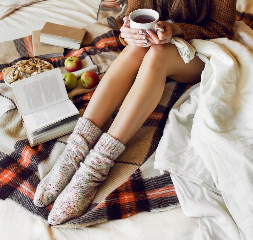 Základ je mať nohy v teplých ponožkách, alebo skúste horúci kúpeľ nôh. Foto: Shutterstock