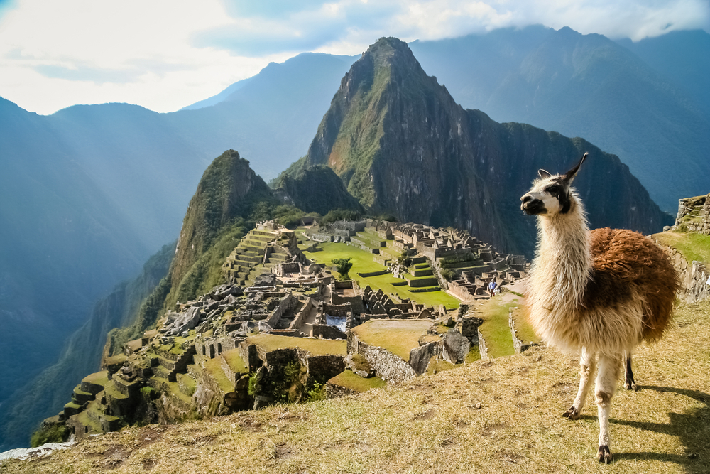 Machu Picchu, Peru. Foto: Shutterstock