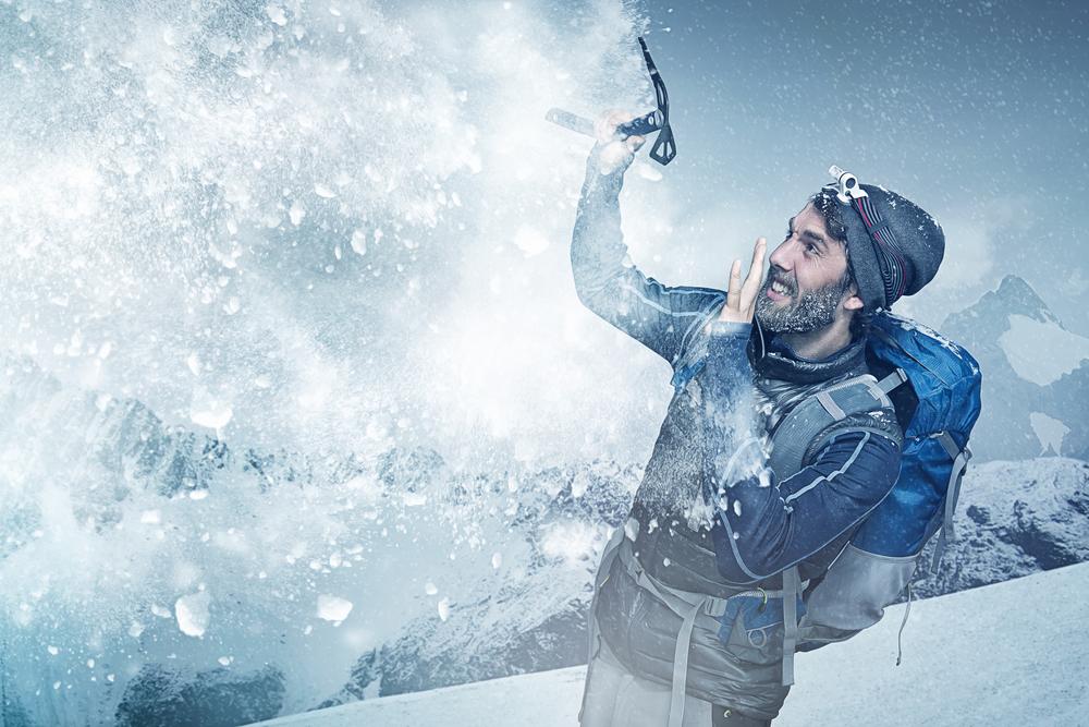 Ako prežiť lavínu. Foto: Shutterstock