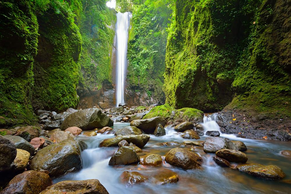 Vodopád, Filipíny. Foto: Shutterstock