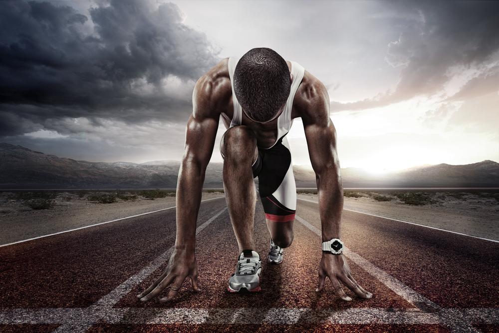 Šprint a prekážky. Foto: Shutterstock