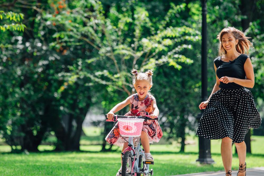Deti sa naučia bicyklovať samy. Foto: Shutterstock