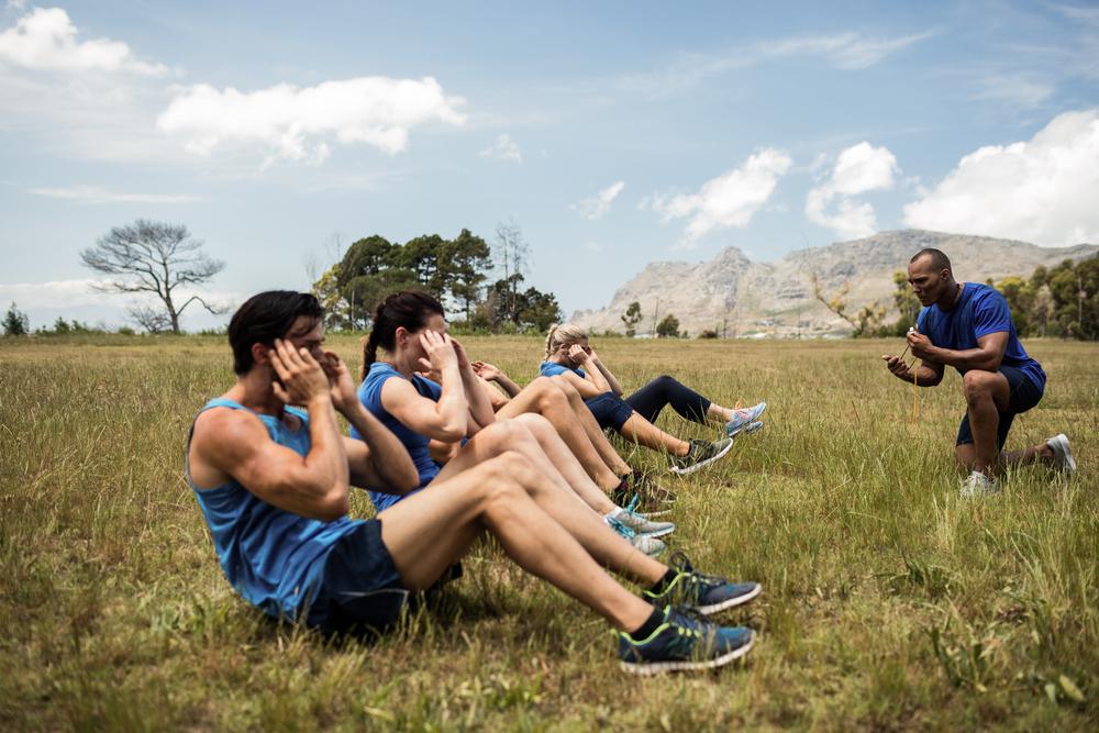 Cvičenie TABATA. Foto: Shutterstock