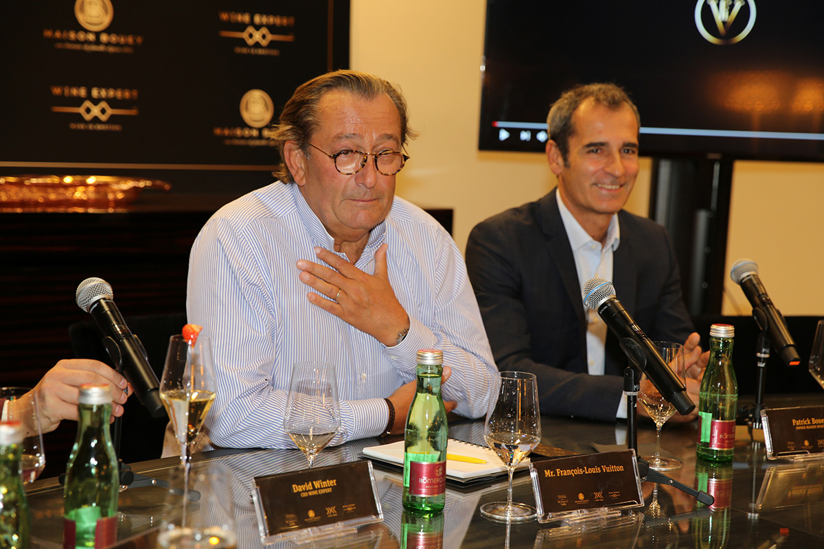 François-Louis Vuitton prešiel takmer všetky francúzske vinice, aby vytvoril najlepšiu kolekciu vín z Bordeaux.