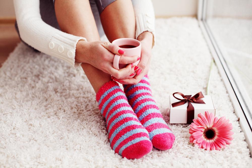 Ponožky v zime. Foto: Shutterstock