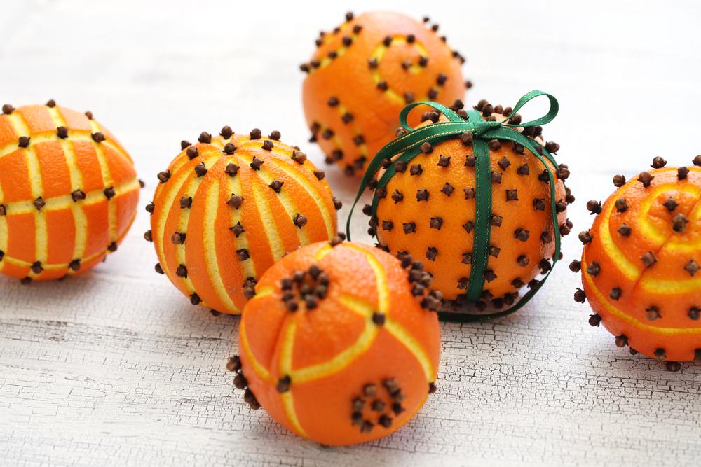 Prírodná vôňa - pomaranč s klinčekmi. Foto: Shutterstock