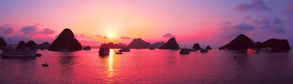 Vietnam - krásne hory aj more. Foto: Shutterstock