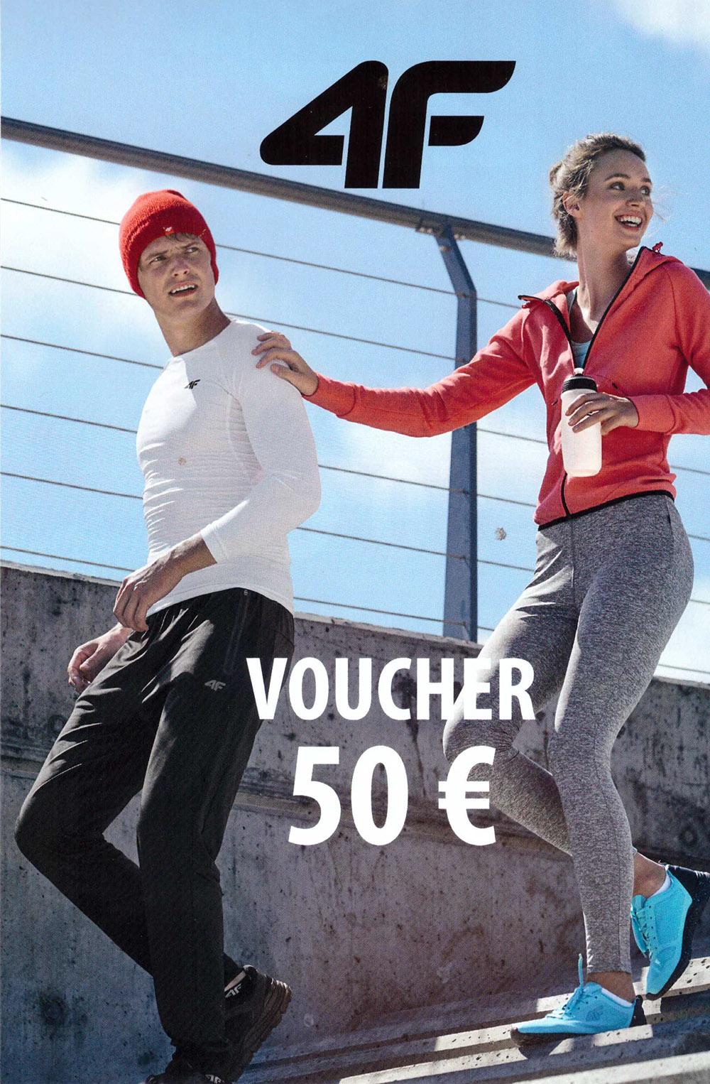 Voucher 50 eur do 4F