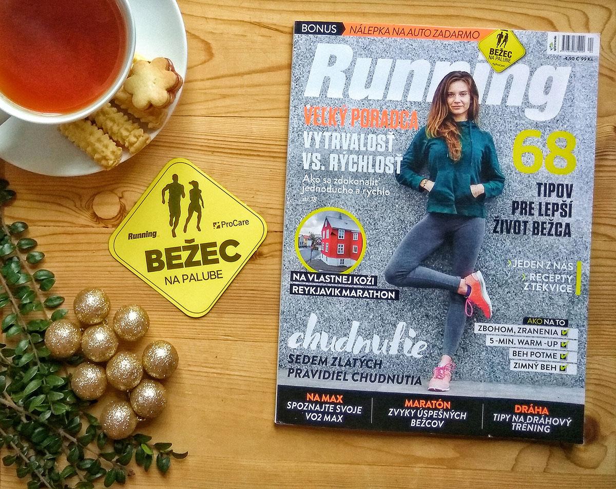 Najnovší časopis Running