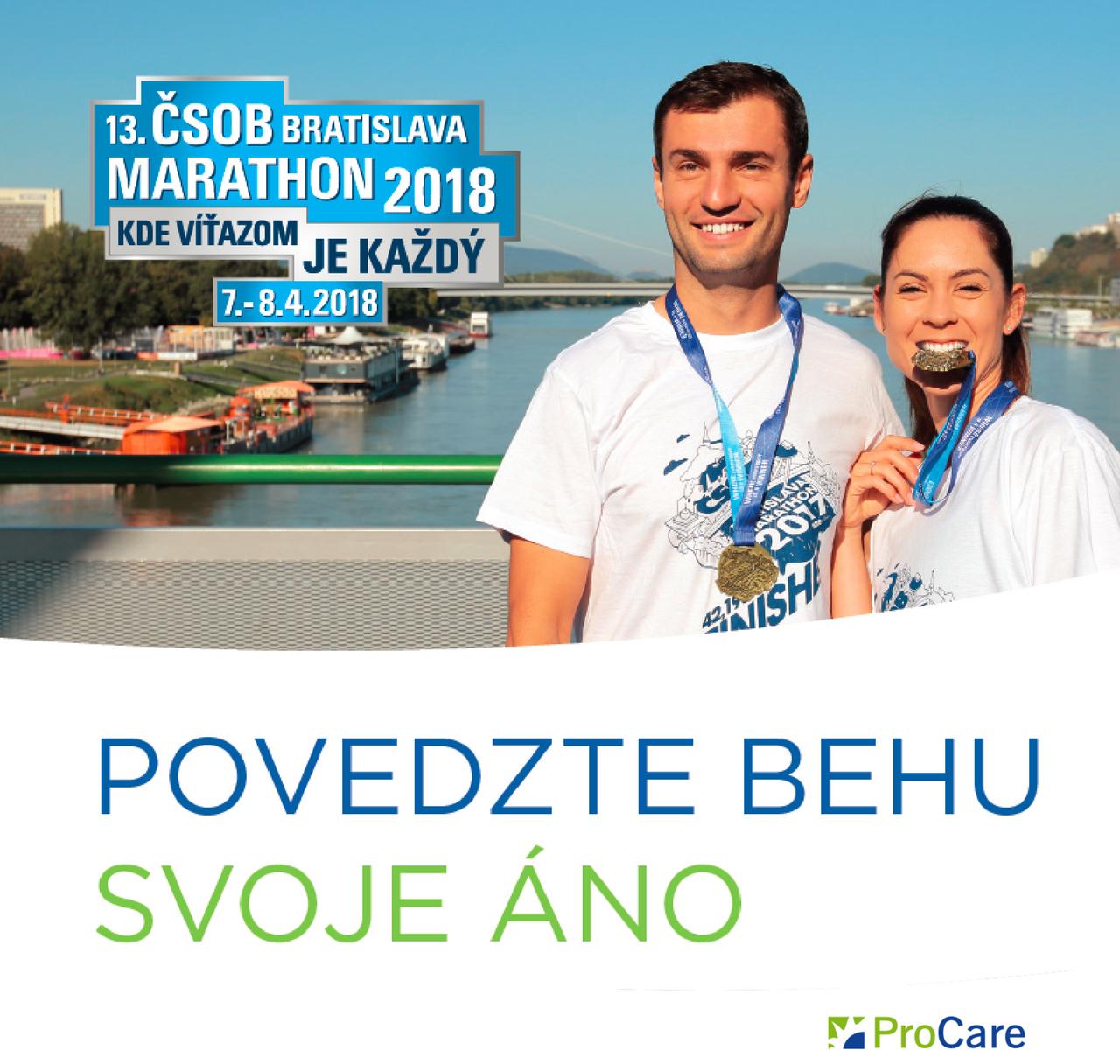 Pripravte sa na beh svojho života - vyhrajte prípravu na 13. ročník ČSOB Bratislava Marathon.
