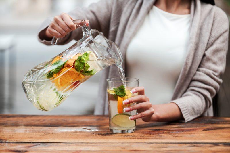 Citrónová voda. Foto: Shutterstock