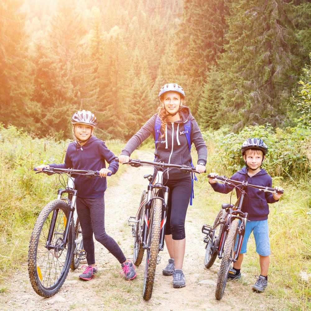 f3968d214ae0b Bicyklovanie je aktivita, ktorú môže robiť spolu celá rodina. Foto:  Shutterstock