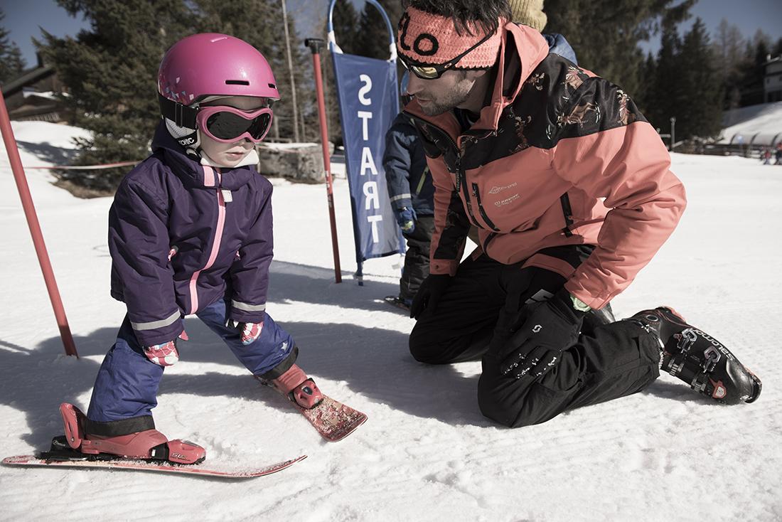 Hinterstoder - kurz lyžovania pre deti. Foto: Oberoesterreich Tourismus. David Lugmayr