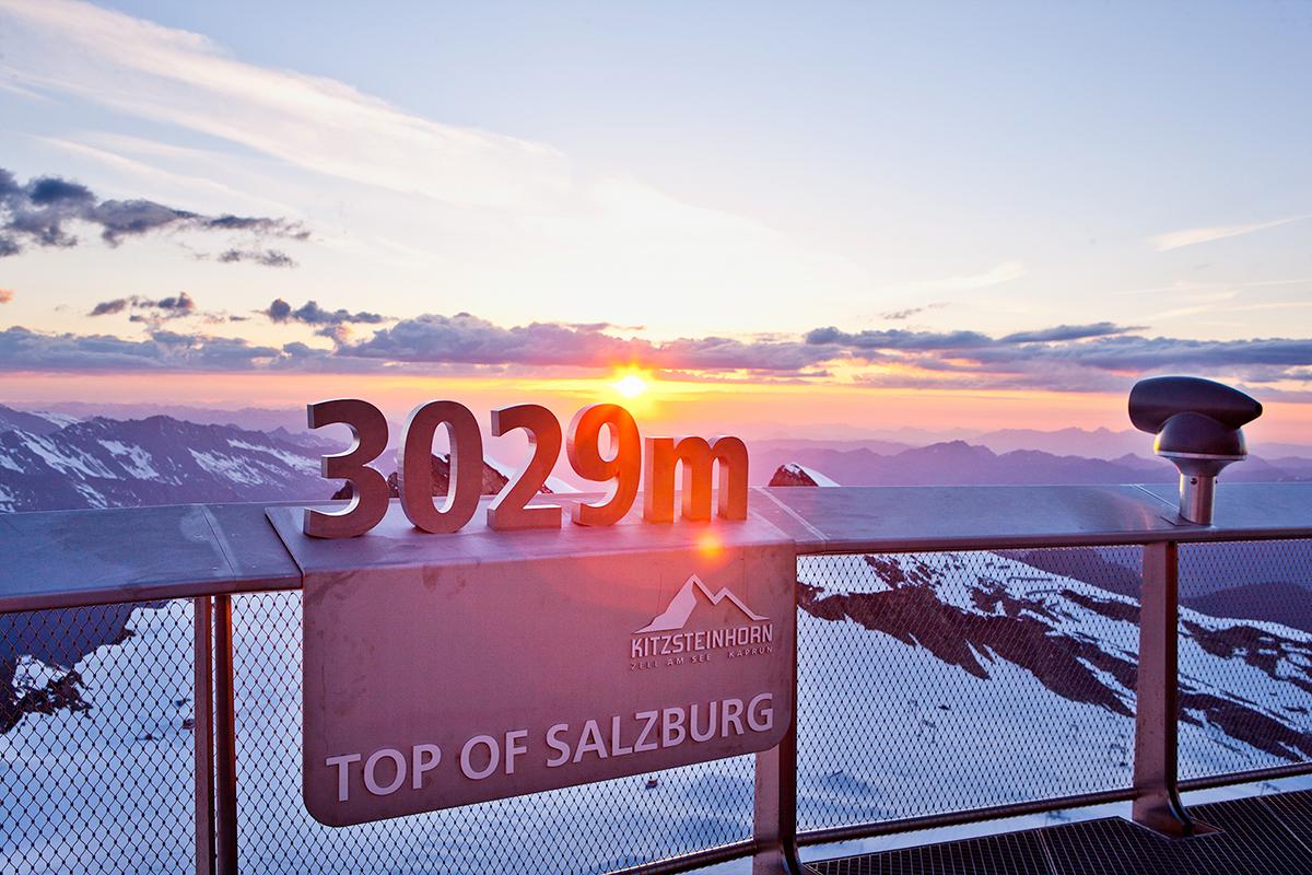 Kitzsteinhorn 3029m. Foto: (c)ideenwerk werbeagentur