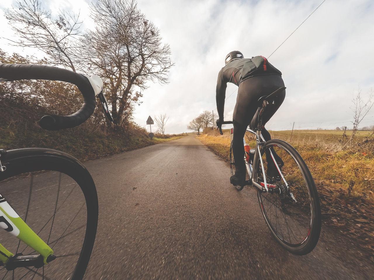 Zimná cyklistika. Foto: Shutterstock