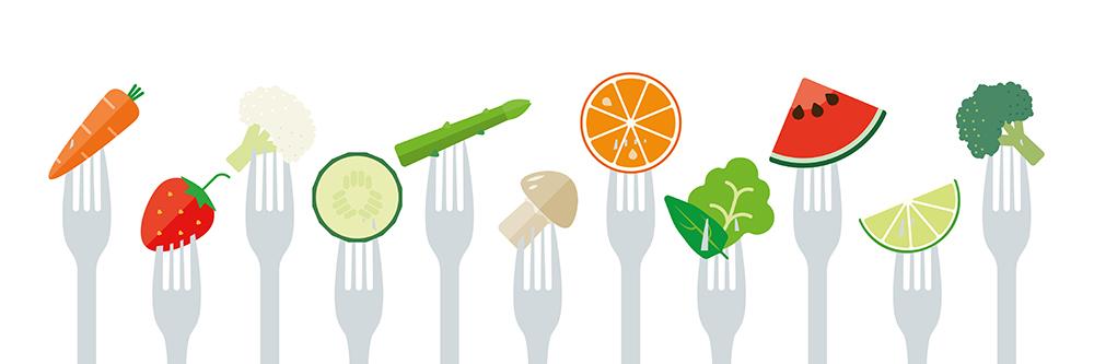 Dobrá strava pomáha proti stresu. Foto: Shutterstock