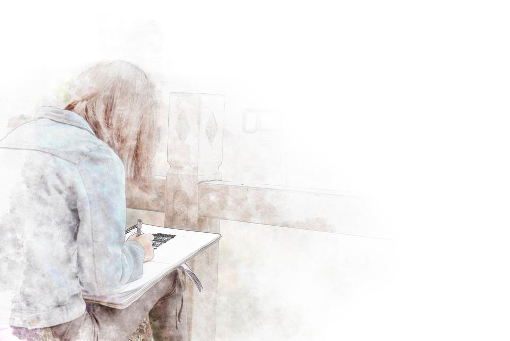 Písanie denníku. Foto: Shutterstock