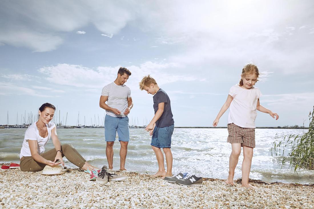 Rodinná dovolenka v Burgenlande. Foto: ©Burgenland Tourismus/Peter Burgstaller