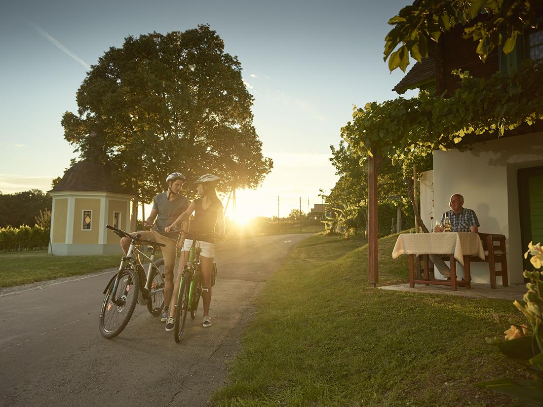 Csaterberg v Burgenlande. Foto: ©Burgenland Tourismus/Peter Burgstaller