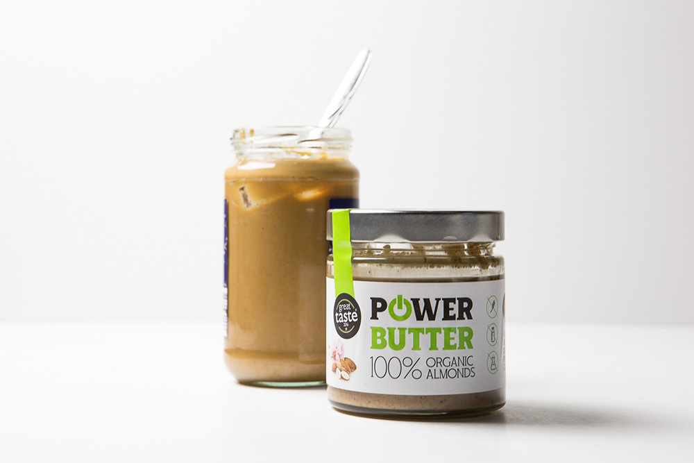 Mandľové maslo Powerlogy