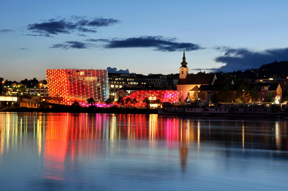 Linec, mesto na Dunaji. Foto: ©Linztourismus