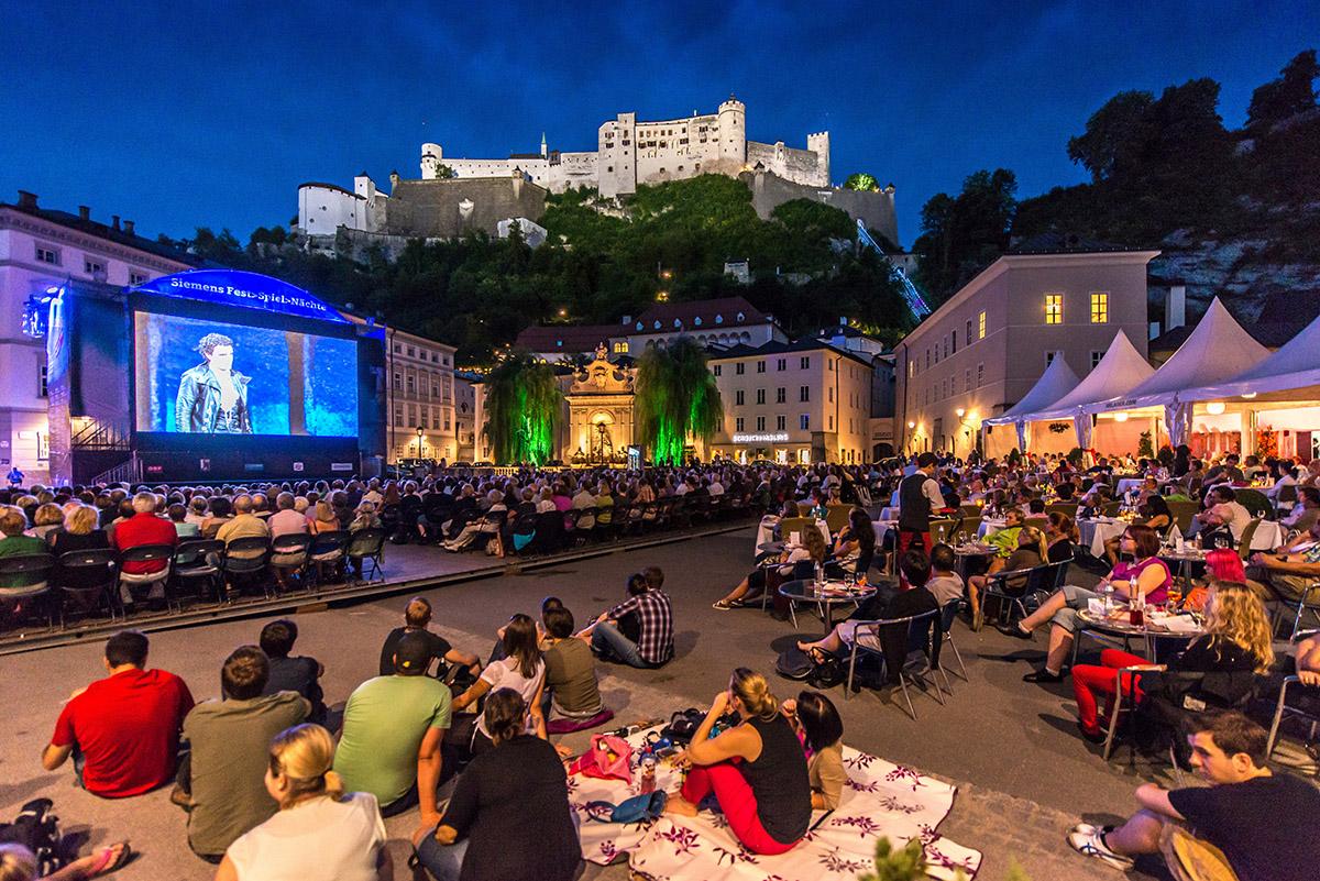 Festivalové večery Siemens. Foto: ©Salzburg Tourismus