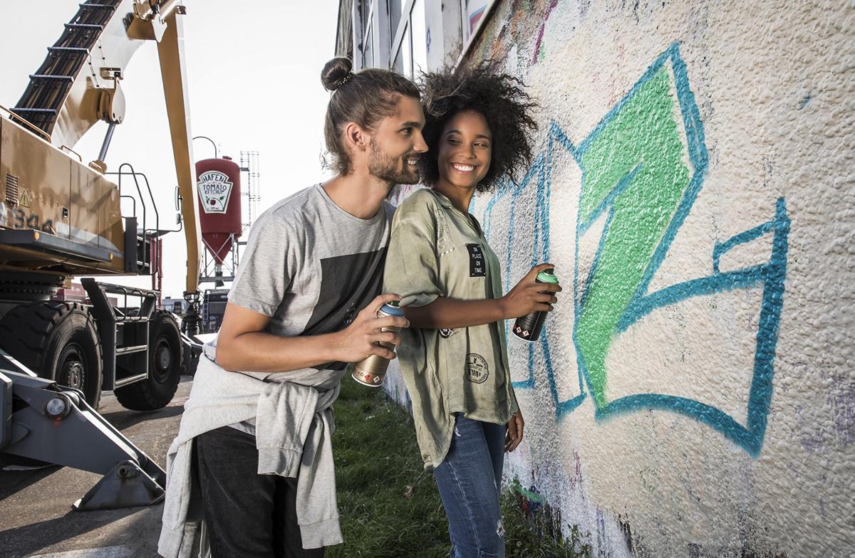 Namaľujte grafity v prístave v Linci. Foto: ©Linztourismus, Robert Josipovic