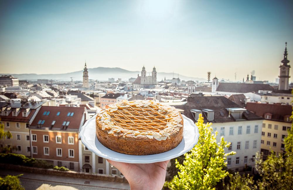 A linecká torta na záver. Foto: ©Linztourismus, MS Fotogroup