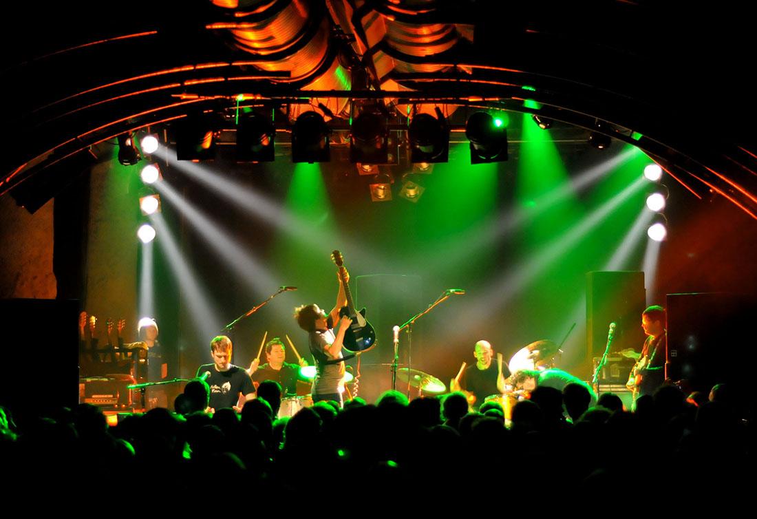 Rockhouse Salzburg - koncert. Foto: ©Salzburg Tourismus