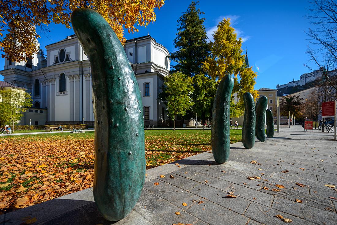 Salzburg Foundation, Erwin Wurm. Foto: ©Salzburg Tourismus