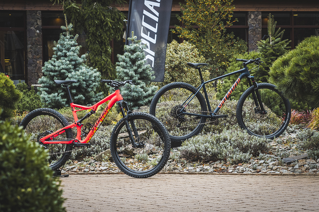 Horské bicykle Specialized