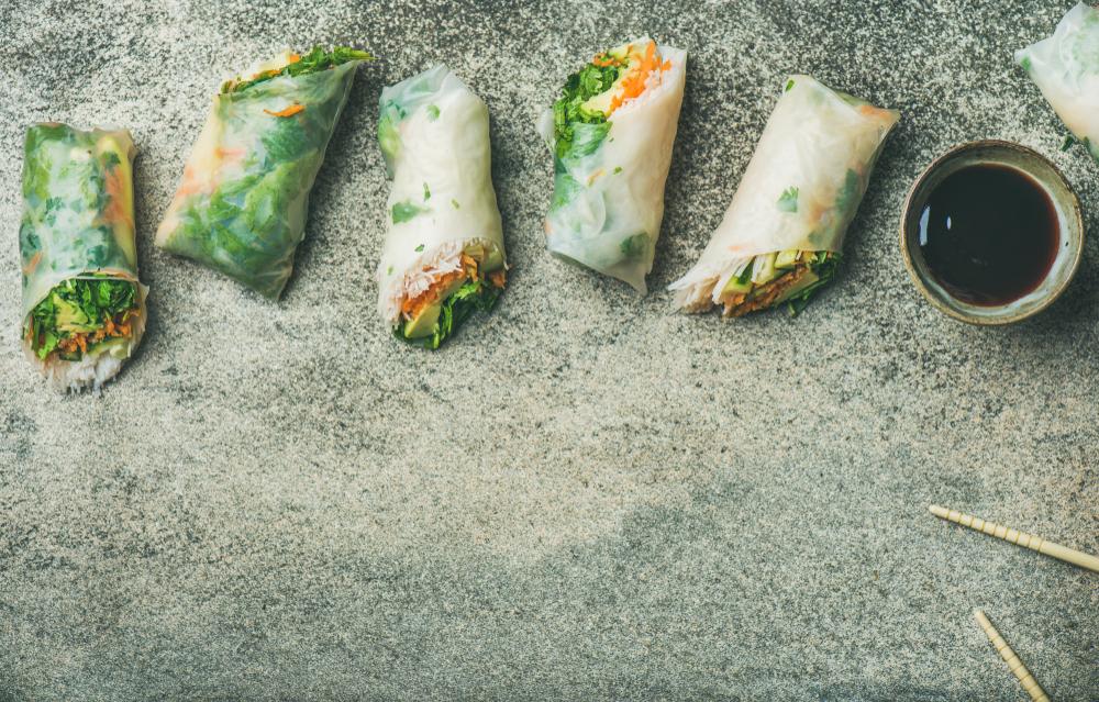 Ryžové rolky s avokádom. Foto: Shutterstock