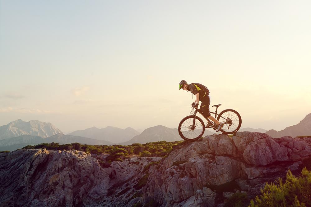 Mountain BIKER. Foto: Shutterstock