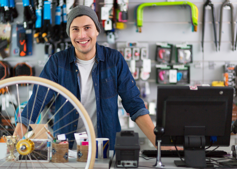 Kamenný obchod je najlepšie miesto, kde kupovať bicykel. Foto: Shutterstock