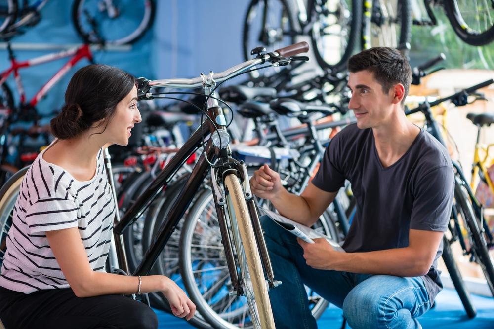 Ujasnite si materiál rámu bicykla. Foto: Shutterstock