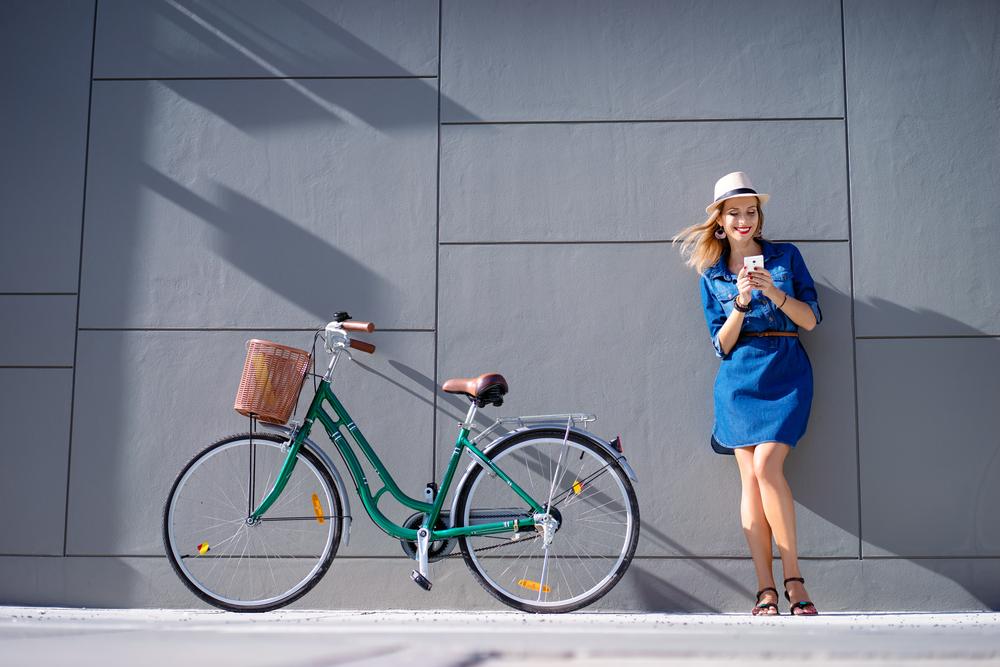 Mestský bicykel. Foto: Shutterstock