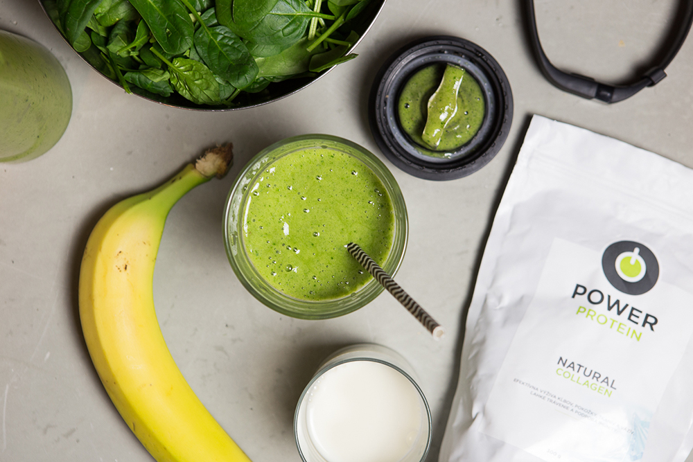 Zelené smoothie. Foto: Powerlogy