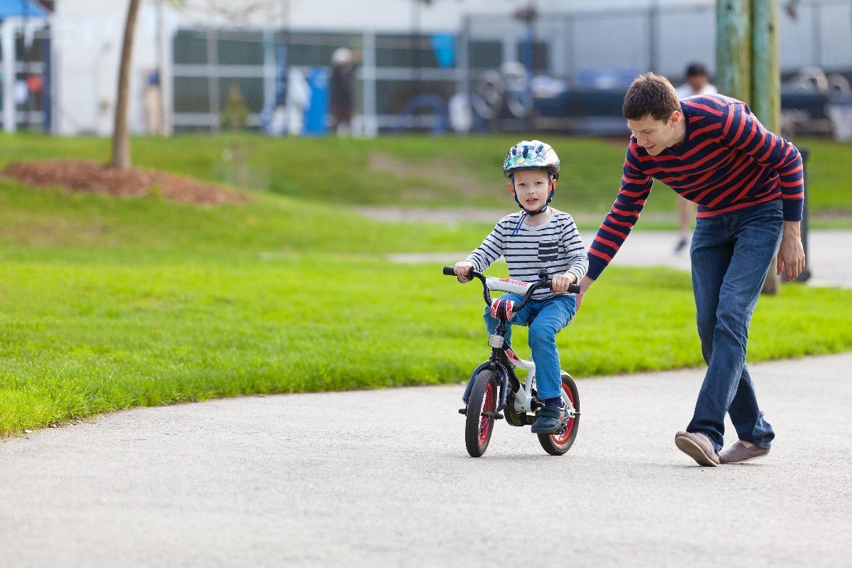 Bicyklovanie s deťmi
