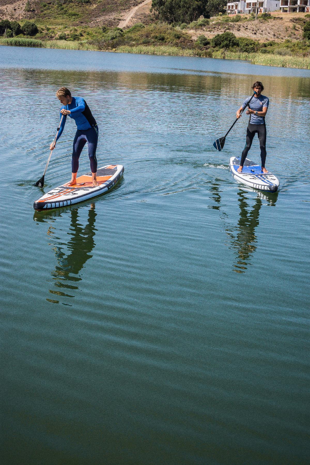 Paddleboardy STX v akcii