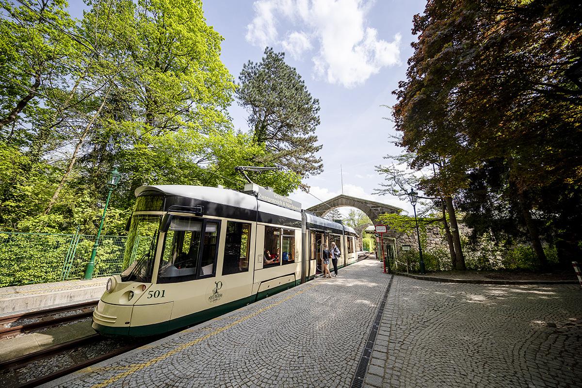 Pöstlingbergbahn premáva v 30-minútových intervaloch. Foto: Martin Matula