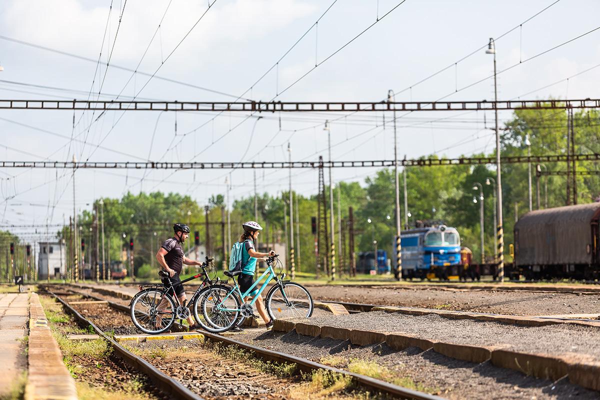 Železničná stanica Kúty. Foto: Miro Pochyba