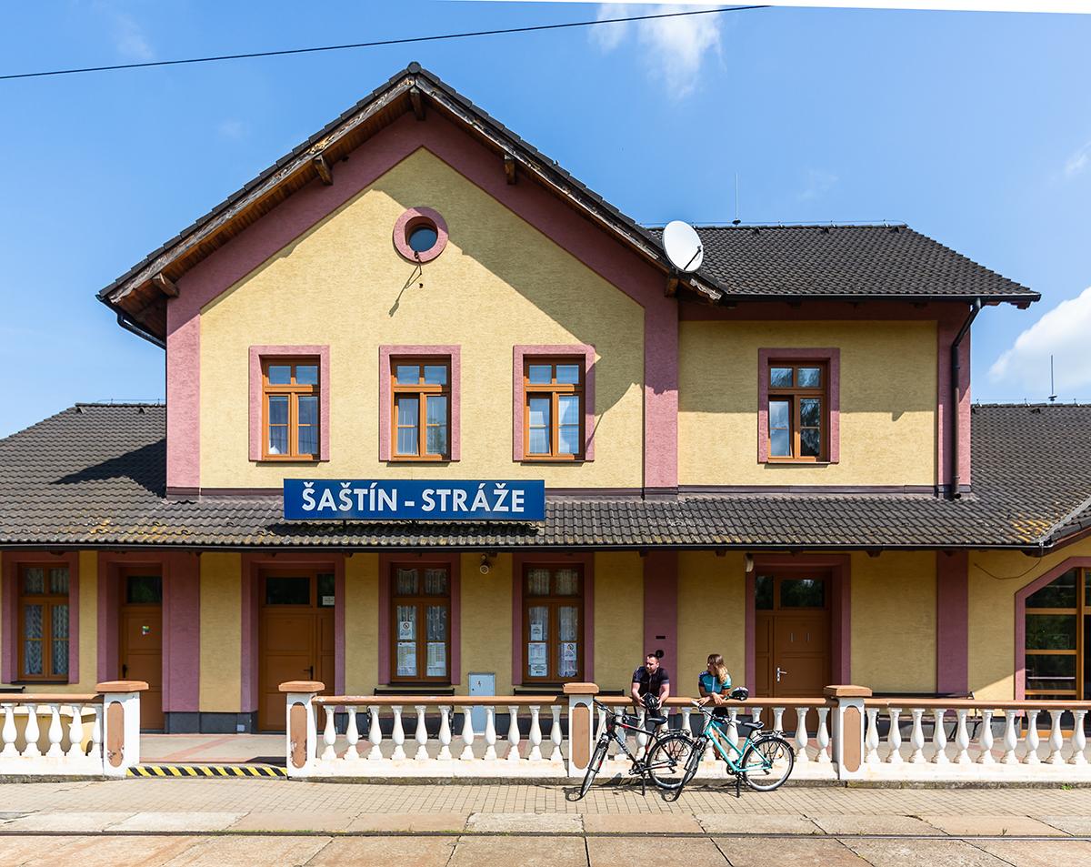 železničná stanica Šaštín-Stráže. Foto: Miro Pochyba