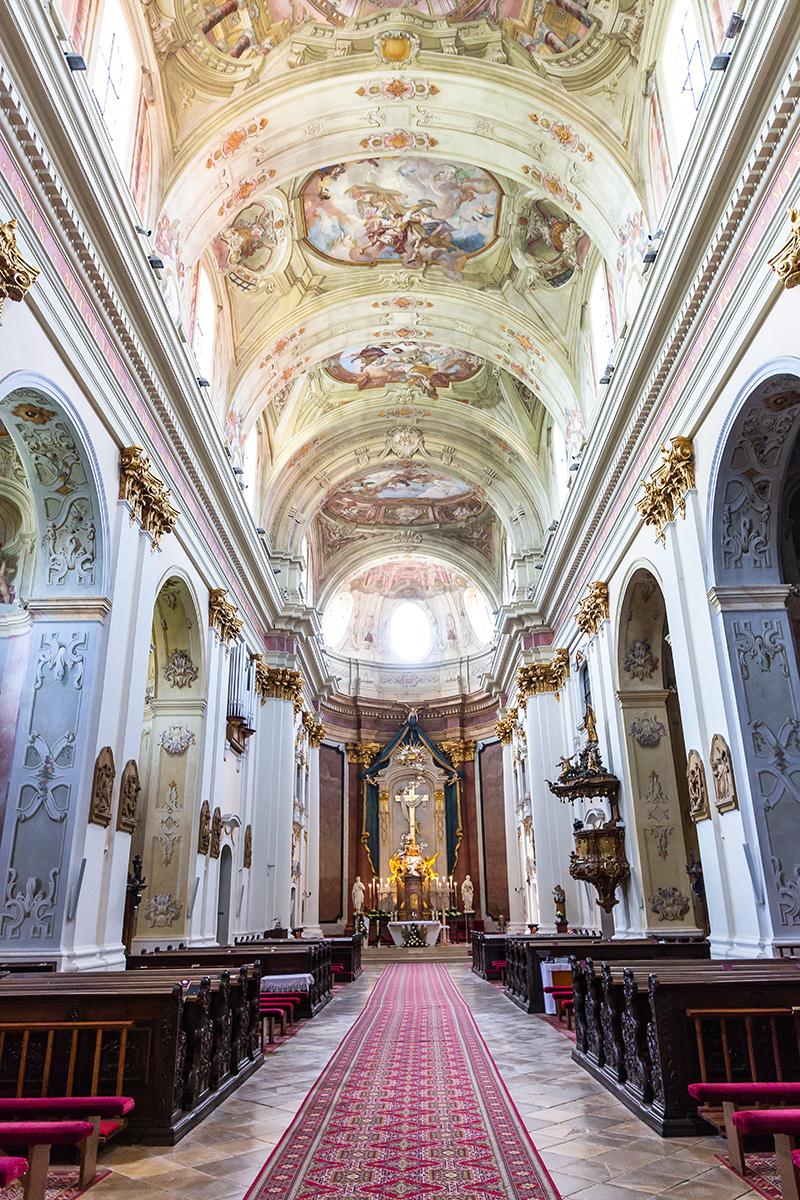 Bazilika Sedembolestnej PannyMárie každoročne navštíviaž niekoľko desiatok tisíc veriacich. Foto: Miro Pochyba